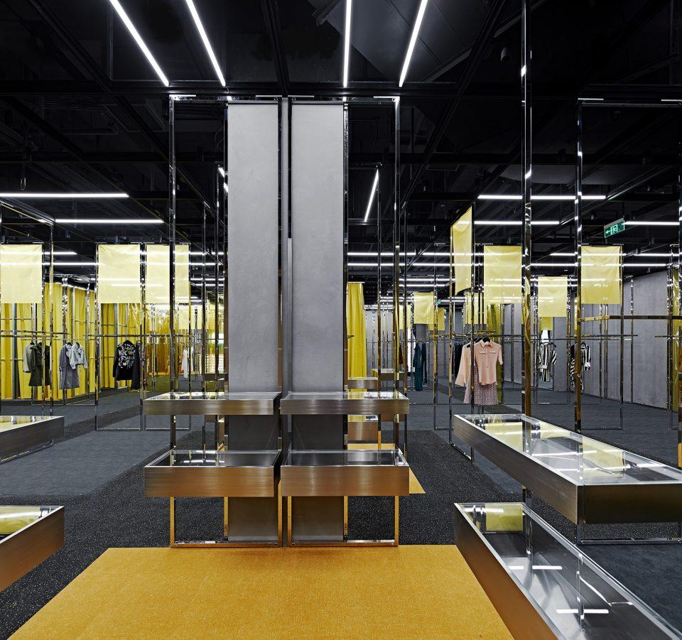 做出银川美术馆的设计师又做出共享零售空间设计图片