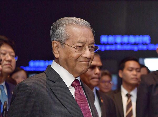 马哈蒂尔谈马航事件:希望大家别因此怪罪马来西亚