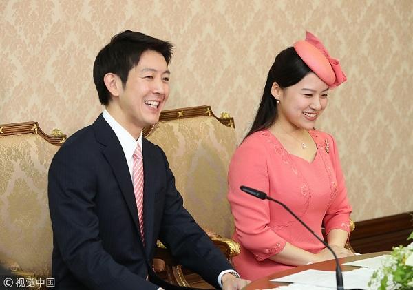 日本绚子公主婚礼定于10月29日 将下嫁平民