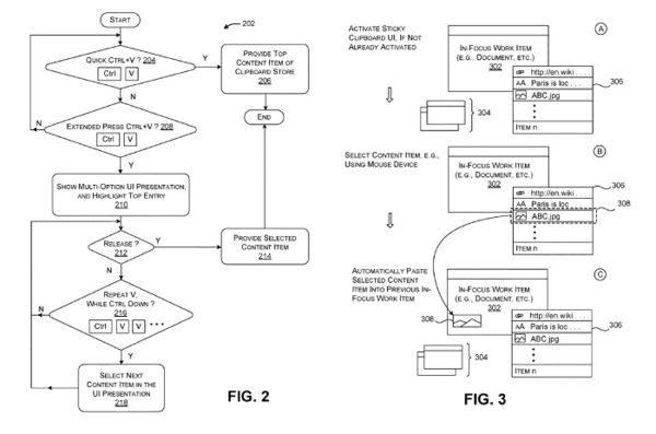 """微软Win10""""云剪贴板""""新专利曝光的照片 - 2"""