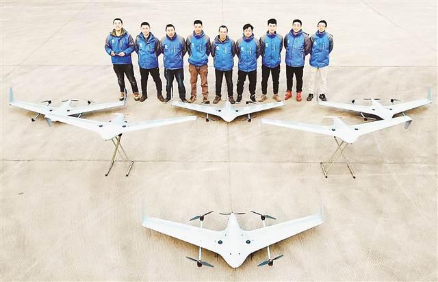 大载重垂直起降无人机在渝首飞成功 该机型填补国内空白