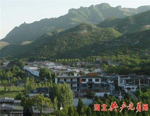 邯郸市峰峰矿区义井镇李庄村坐落在响堂生态
