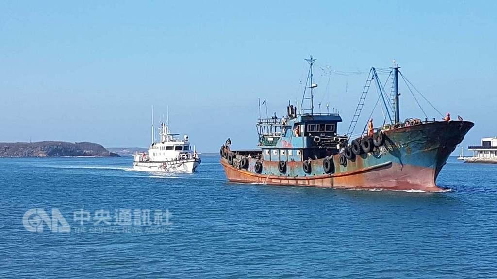 """又把""""越界""""当理由 台当局3天扣押3艘大陆渔船"""