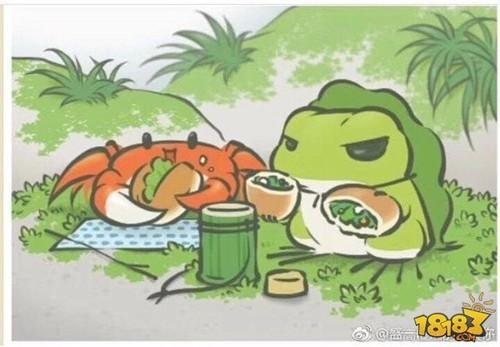 【旅行青蛙评测】我们就做一个留守儿童静静等蛙蛙给我们带回