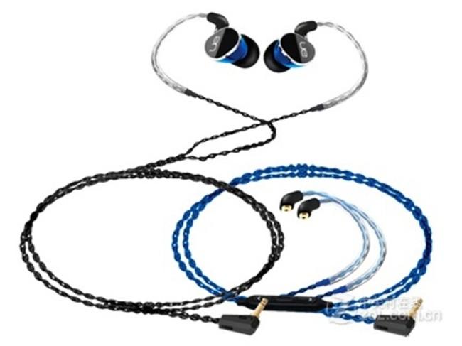 罗技UE 900耳机 (入耳式 动铁 四单元) 京东1599元(赠品)