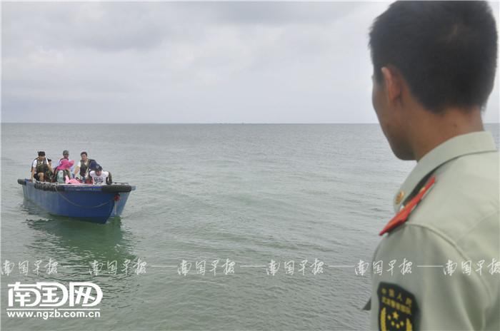 """惊心动魄!10名游客在北海被骗上""""黑船"""",危急时刻有"""