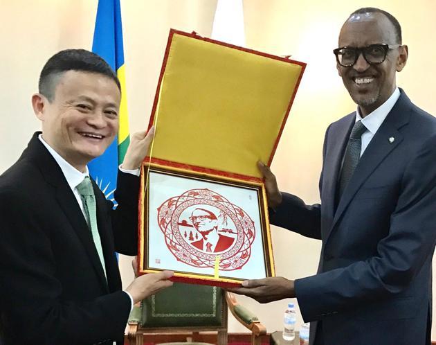 马云同卢旺达总统对话将邀请非洲人才来华培训