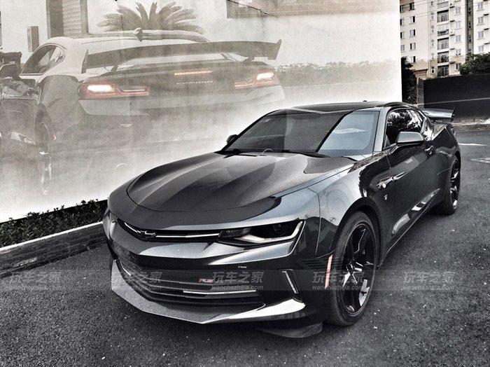 新款科迈罗改装zl1包围,霸气外观更有美式肌肉跑车的味道