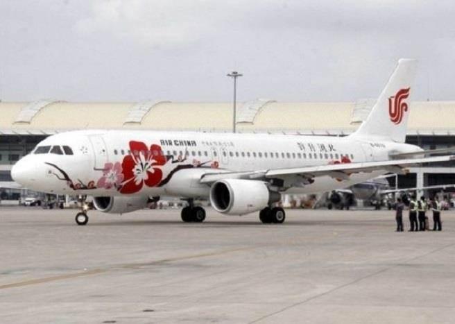 中国国航班机