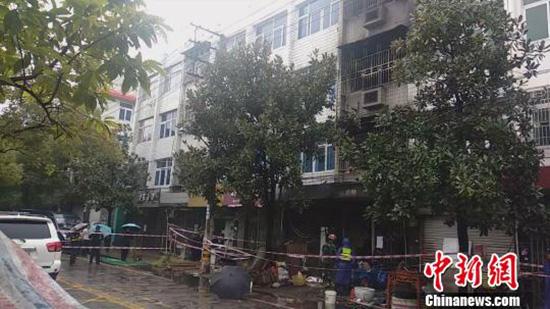 浙江一民房发生火灾致4人死亡 事故原因尚在调查