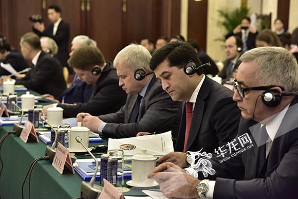 上合组织国家驻华使节代表团一行访渝 重庆的巨大优势引热议