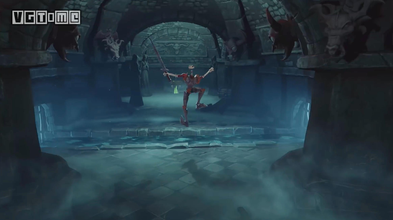 网游之骷髅骑士_ps经典游戏《骷髅骑士》重制版预告片与截图公开