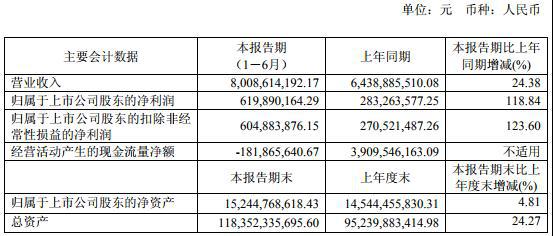 蓝光发展半年负债增219亿现金流变负 市值蒸发131亿