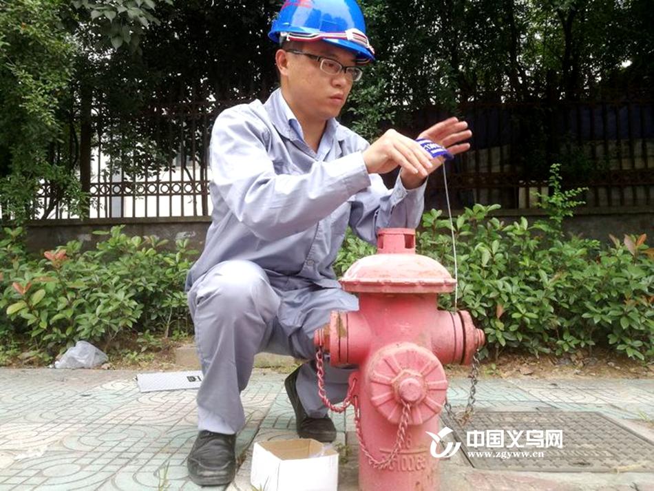 义乌廿三里567个市政消防栓不一般 它们也有专