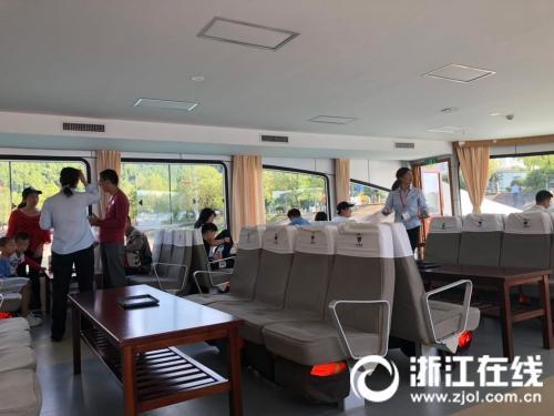 千岛湖游船加收上舱座位费每人20元 将被停航问责