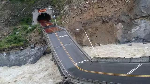 注意!暴雨致国道213、317线通行受阻去阿坝州的请走这条路
