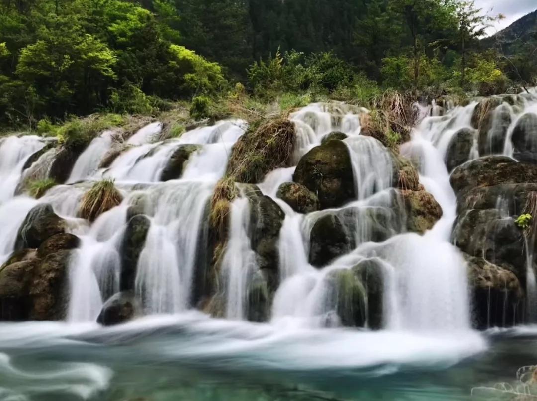 壁纸 风景 旅游 瀑布 山水 桌面 1080_807