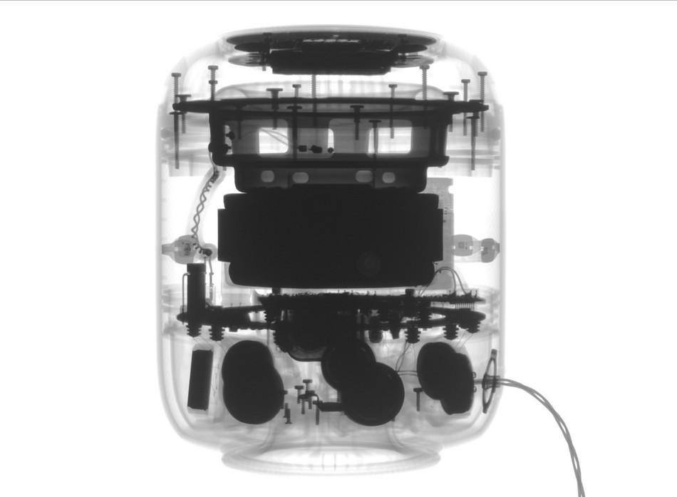 苹果x内部结构图壁纸