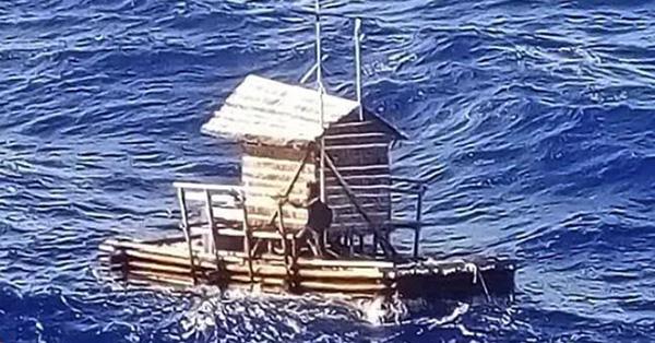 印尼小伙海上漂浮49天获救 曾有10余艘船经过未停