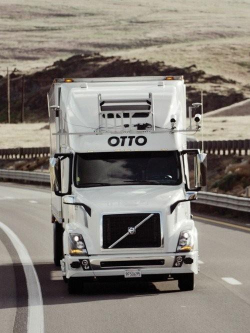 2017年度十大创新技术:自动驾驶卡车