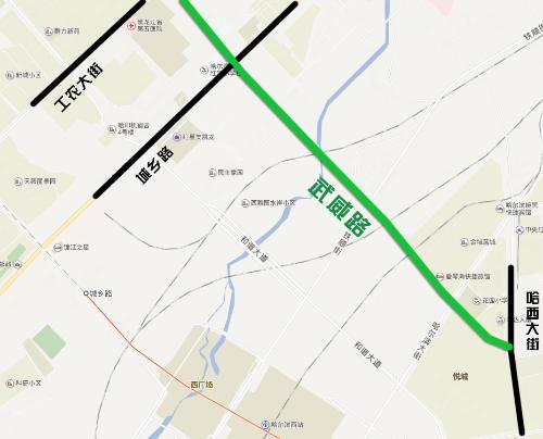 哈市武威路7月底前通车 连通哈西大街 - yuhongbo555888 - yuhongbo555888的博客