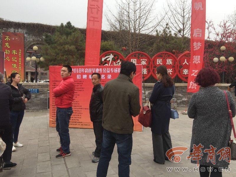 咸阳举办首场高校毕业生就业招聘会 1500人达