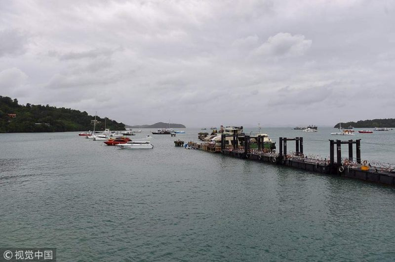 2018年7月11日,泰国普吉岛,普吉岛沉船事故的第七天,事故幸存者