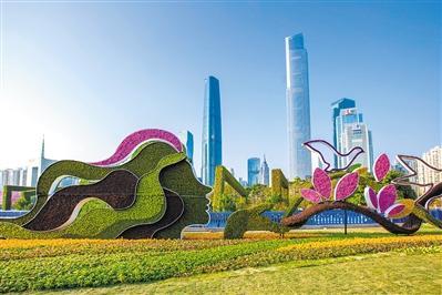 我的中国我的年:在春天里盼望 在花城里歌唱