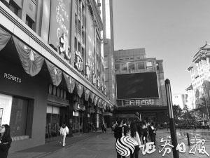 黄金周走访4家北京百货上市公司客流量分化明显王府井人气最旺