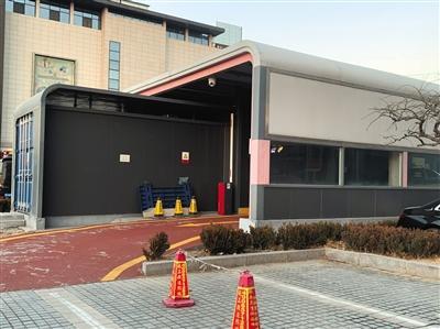 奥动电吧位于北京市丰台区卢沟桥的北汽新能源换电站。来源:新京报
