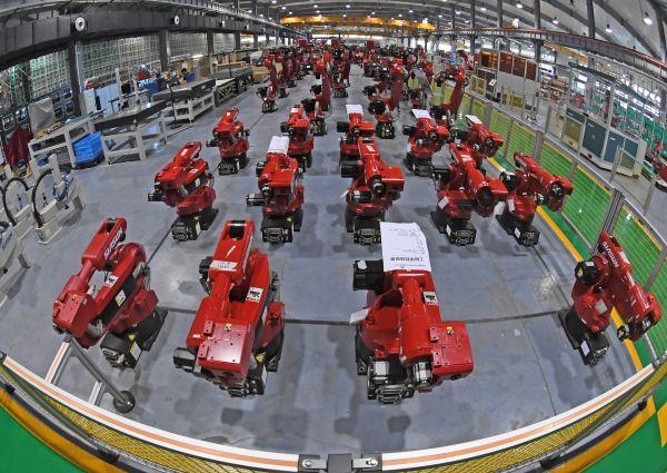 """日媒:中国成工业机器人主战场 中日企业对抗""""厮杀"""""""