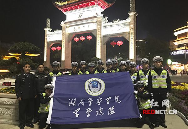 70238.com湖南警察学院学警协助开展春运执勤和安保工作
