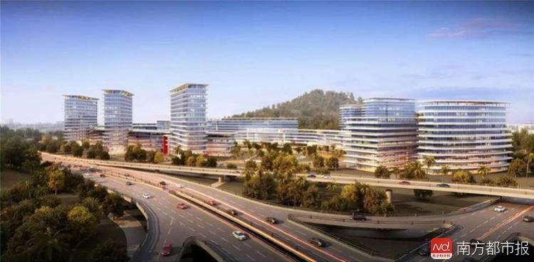 中山市人民医院新院区选址南区!概念性设计方