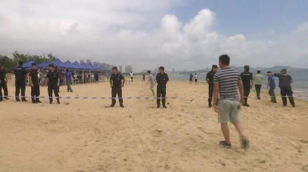 北京双胞胎青岛溺亡海滩非正规浴场 宽度窄水流急