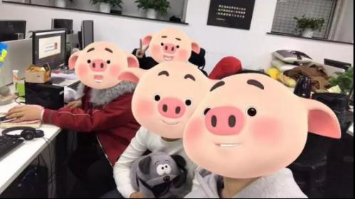 原创表情旗下震惊文化IP猪小屁荣获优秀形象版q老夫子动漫包图片