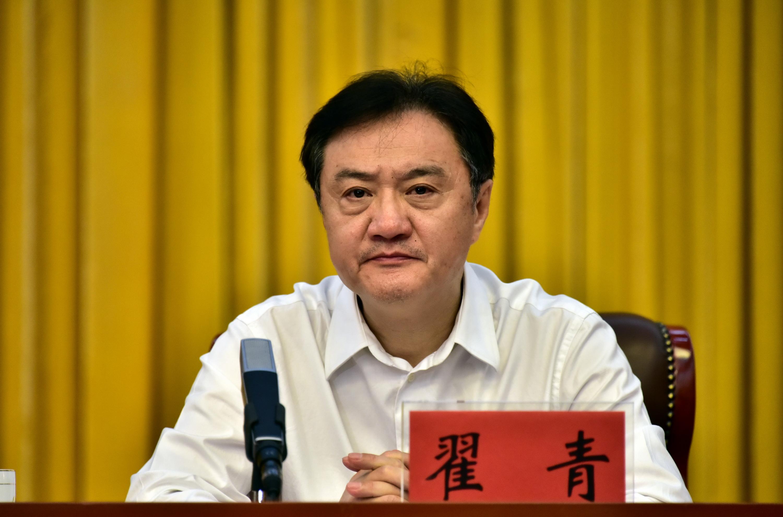 中央第二环境保护督察组副组长翟青。摄影/章轲