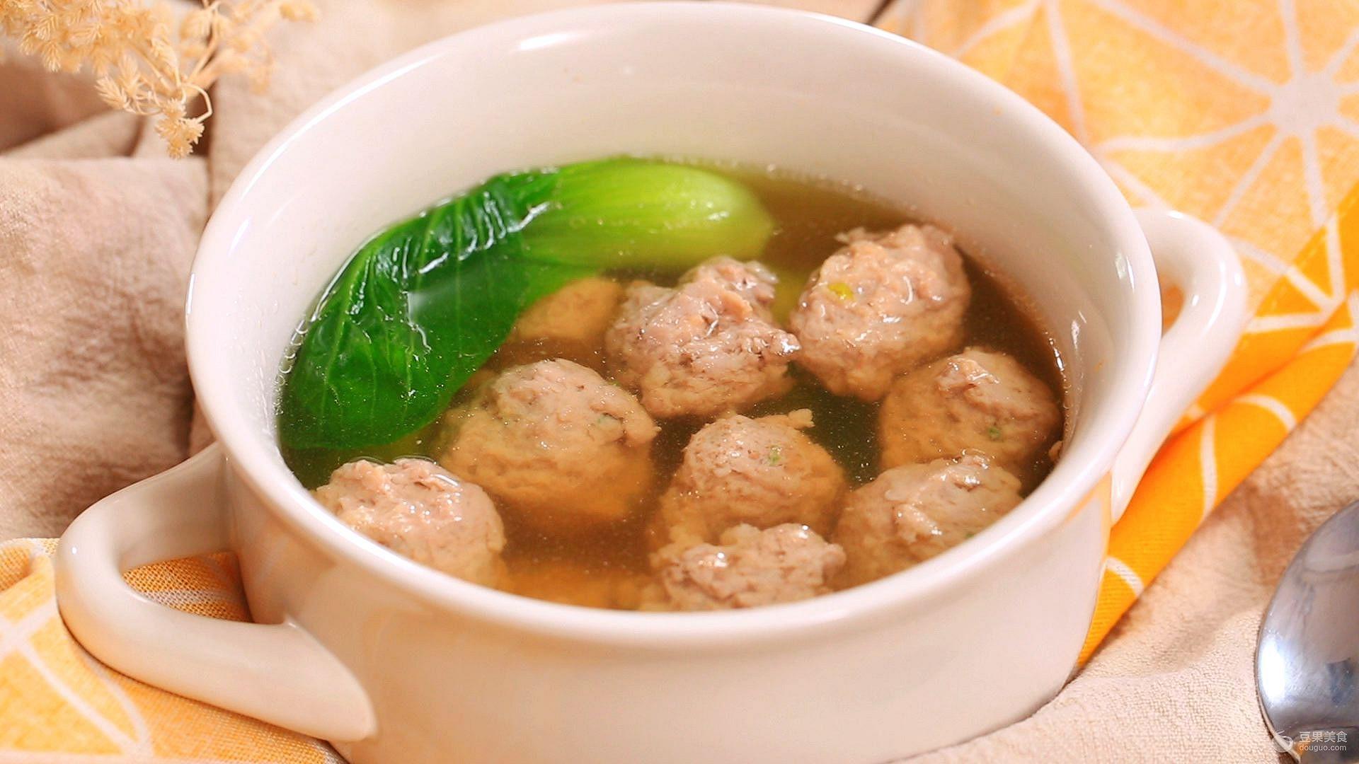 丸子糯米汤的猪肉做法蛋市场价图片