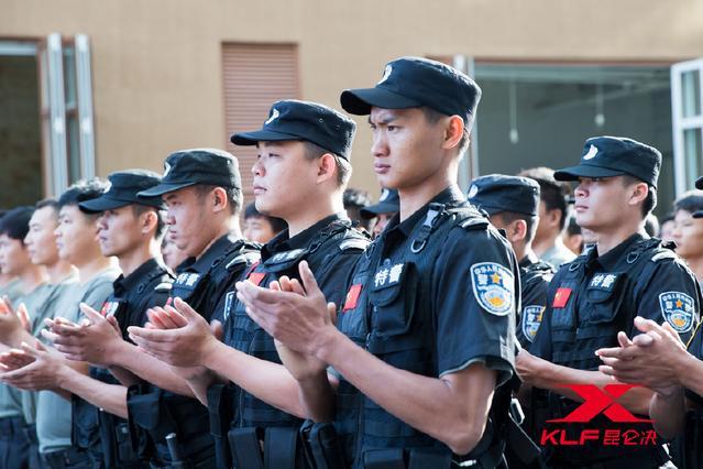 昆仑决-三亚公安局飞鹭支队格斗特训营开营仪式举行