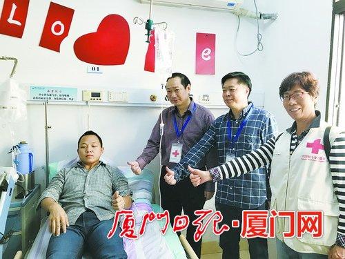市民为7岁女孩捐献造血干细胞 厦门救命血飞往上海救人