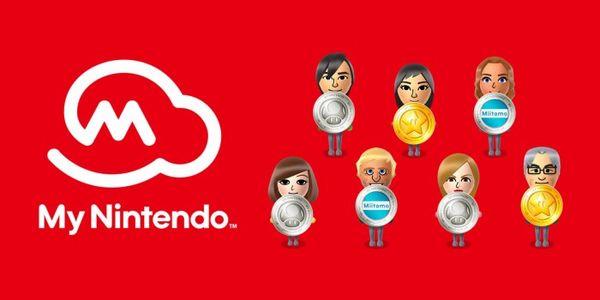 任天堂My Nintendo会员点数服务3月将升级