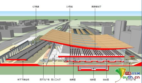 百年老站换新颜 京张高铁清河站主体结构正式封顶