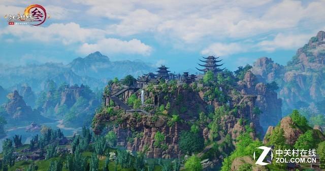 《剑网3》重制版上线 铭瑄带你领略大美山河