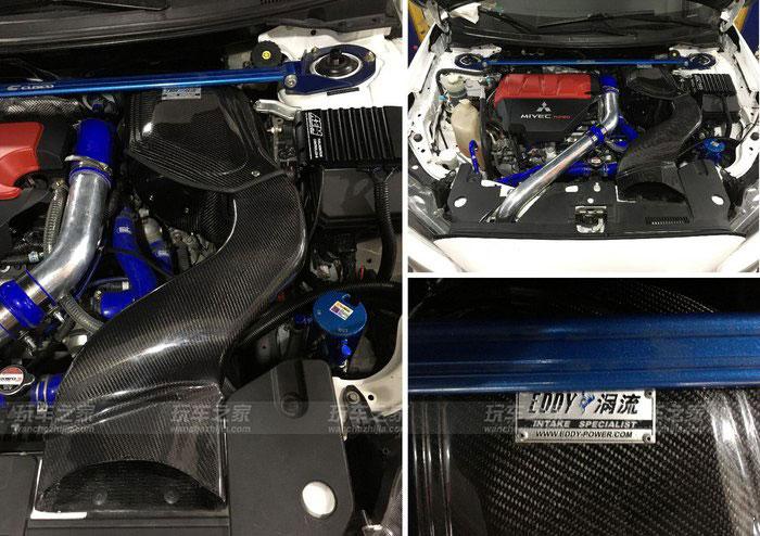 空气流量计安装在中冷出口至节气门之间,比安装在涡轮前的空气