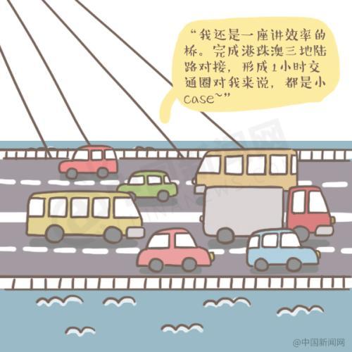 故事超级国人工程的话说,港珠澳大桥有漫画漫画志背后图片
