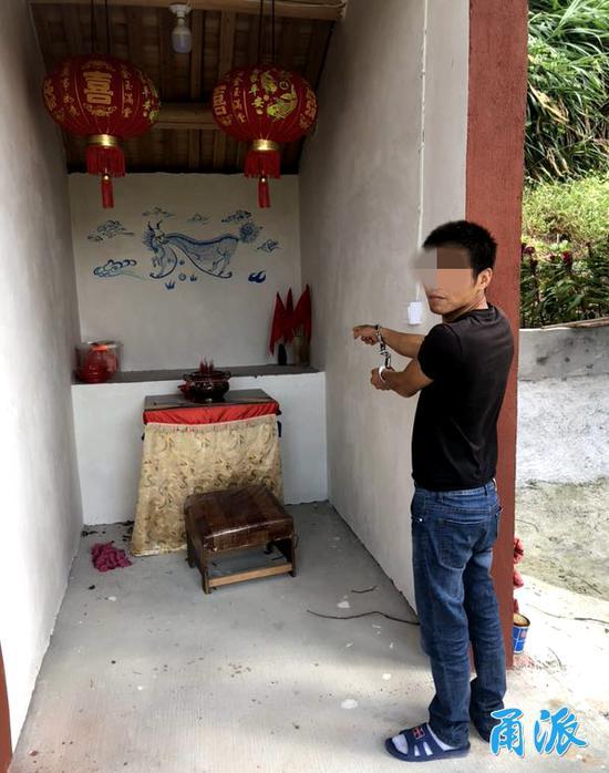 宁波3男子盗走村土地庙200多年历史的菩萨石像被拘