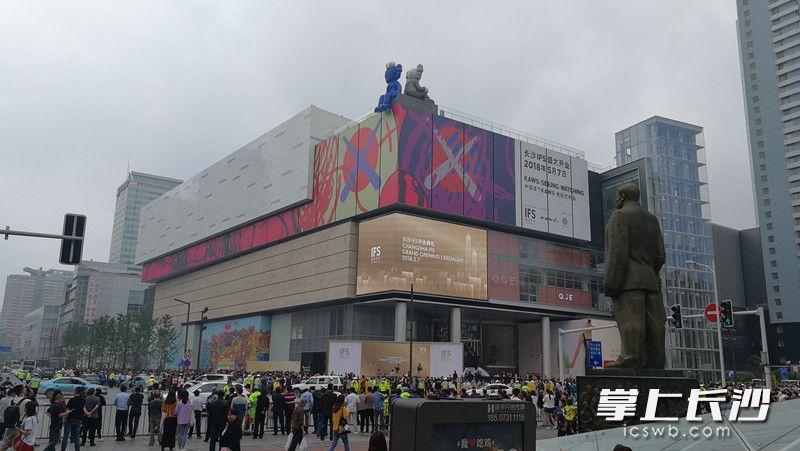 长沙国金中心开门迎客!九龙仓华中商业旗舰携400品牌正式亮相