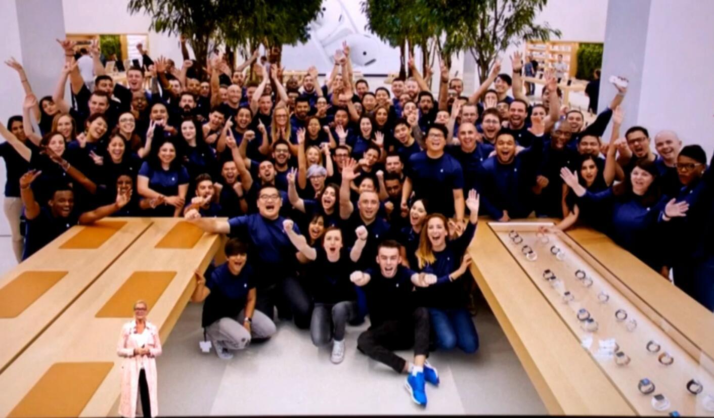 2017年苹果秋季新品发布会 AR将定义苹果新未来