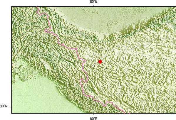 9月28日5时13分西藏阿里地区日土县发生5.1级地震