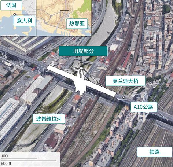 意大利大桥垮塌恐怖时刻:回头看身后汽车长龙不见了