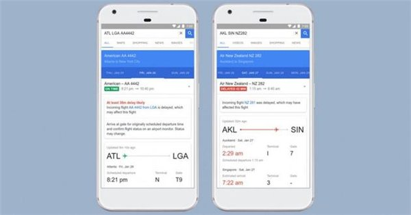 Google Flights:谷歌将用人工智能预测航班延误